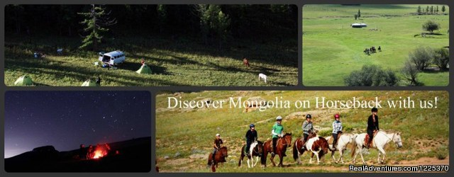 Experience horseback adventure in Mongolia