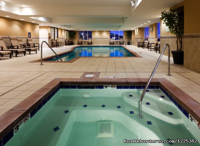 Indoor Hot Tub - Endless Summer Days and Winter Northern Lights