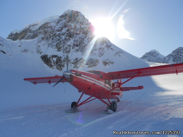 K2 Otter on the Glacier - K2 Aviation