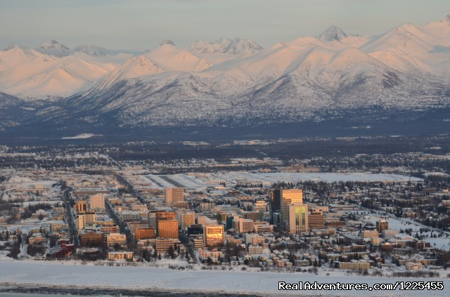 Anchorage by Air - Salmon Berry Travel & Tours