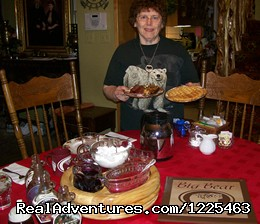 Carol Ross, Owner and Cook - Big Bear Bed & Breakfast
