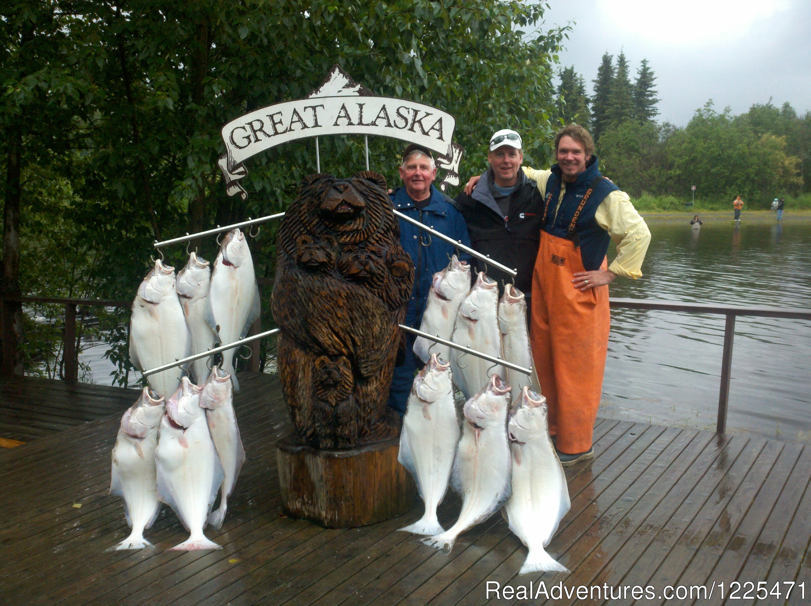Halibut Limit from Deep Creek