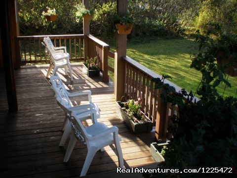 Lower Deck - Bear Lake Lodgings B&B