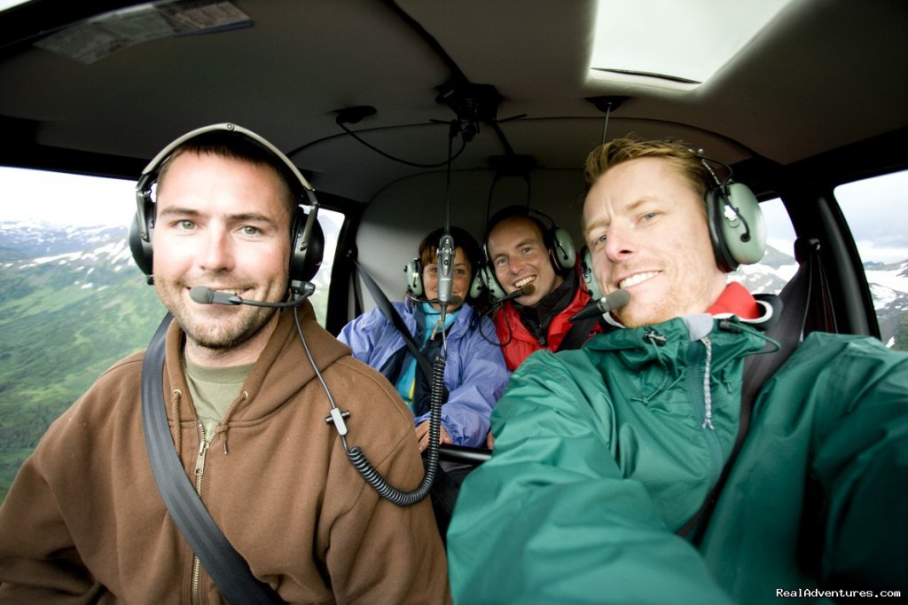 Alpine Air Alaska operates world-class helicopter flightseeing, glacier dog sledding and custom day trips through the outstanding scenery of the Chugach mountains. Spot wildlife, walk on a pristine glacier. We offer the ultimate flightseeing tour.