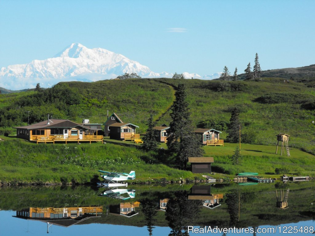 A family-operated FLY-IN lodge with stunning views of Denali and no crowds. Hiking, camping, kayaking, wildlife, great photo opportunities, Northern Lights and Winter Packages. Come experience true Alaska!