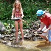 Gold Panning adventures in Dominican Republic