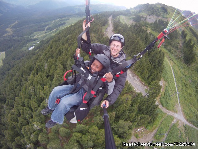 Alaska Paragliding, LLC: Flying Over Midway