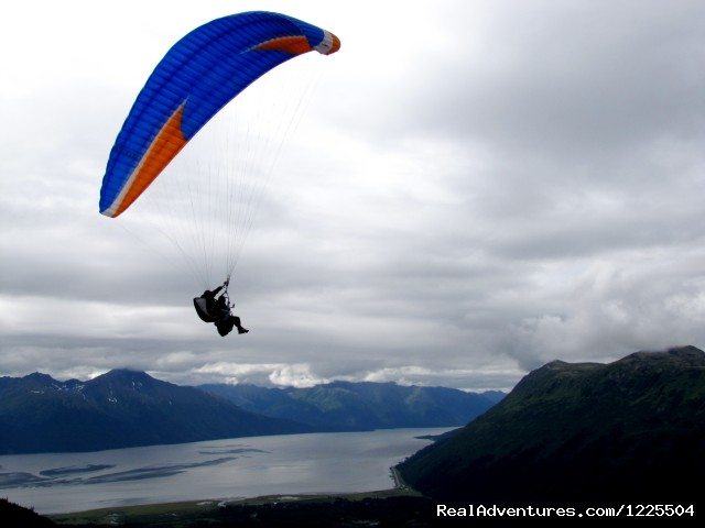 The view from Launch - Alaska Paragliding, LLC