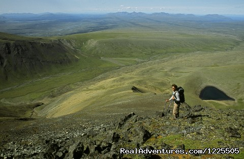 Hiking above Turquoise Lake - Lake Clark National Park (#3 of 6) - Extraordinary Adventure Vacations in Alaska