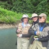 Get Started Fly Fishing with us in Alaska Doubles at the fly fishing school in Cordova, AK