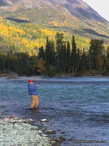 Fall fishing on the Upper Kenai River (#1 of 8) - Alaska River Adventures