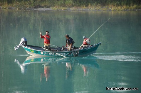 Drift boat fishing  (#2 of 8) - Alaska River Adventures
