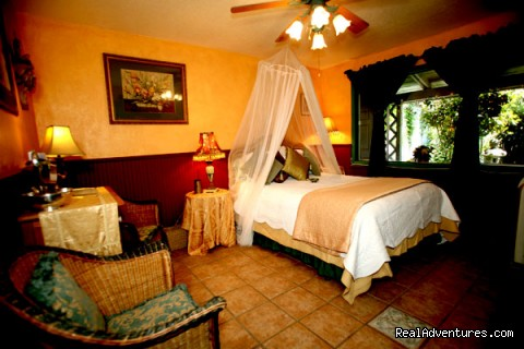 Guest room at Hillcrest - Napa Valley's Destination Getaway at Hillcrest B&B