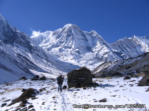 - Annapurna  Base Camp Trek