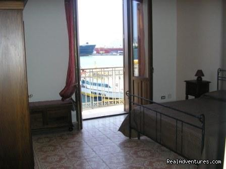 Scirocco room - B&B Belveliero Trapani harbour/old town