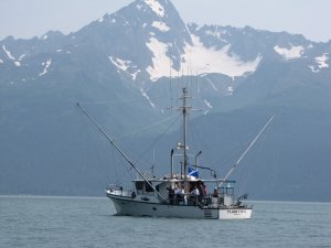 Largest 6 passenger vessel in the fleet Seward, Alaska Fishing Trips