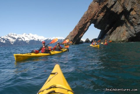 Fox Island Arch - Sunny Cove Sea Kayaking