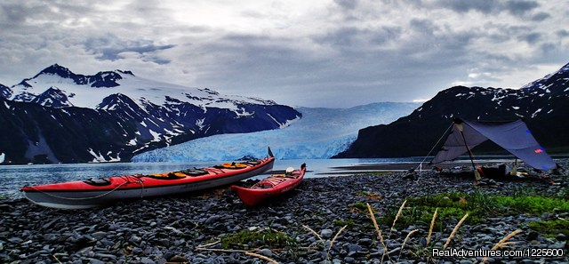 Overnight Campsite - Kayak Adventures Worldwide in Seward, Alaska