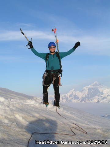Happy climber! (#22 of 23) - Adventure Guides in Wrangell-St. Elias NP
