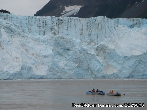 Rafting past the Child's Glacier (#18 of 23) - Adventure Guides in Wrangell-St. Elias NP