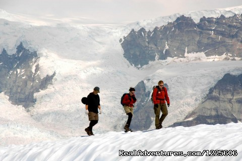 Hiking on the Root Glacier, Kennecott, AK (#1 of 23) - Adventure Guides in Wrangell-St. Elias NP