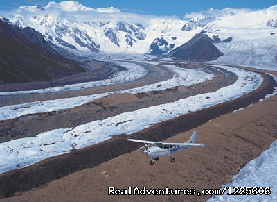 Flightseeing over the Kennicott Glacier - St. Elias Alpine Guides