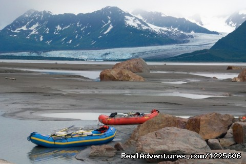 Camp on the Copper River - St. Elias Alpine Guides
