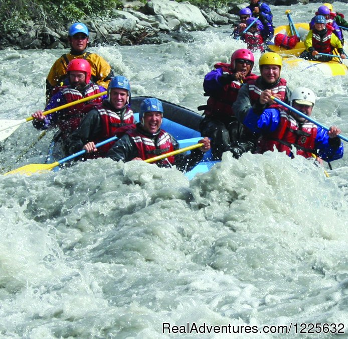Alaska Active: Rafting, scenic and whitewater near Anchorage and Glacier treks/hikes, ice climbing on the Matanuska Glacier.