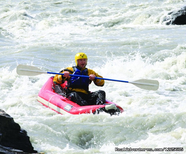 Inflatable Kayak Tours - Denali Outdoor Center - Raft, Kayak, Bike & Camp