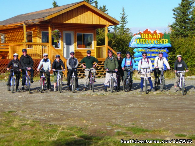 Mountain Bike Tours - Alaska Adventure Tours at Denali Outdoor Center