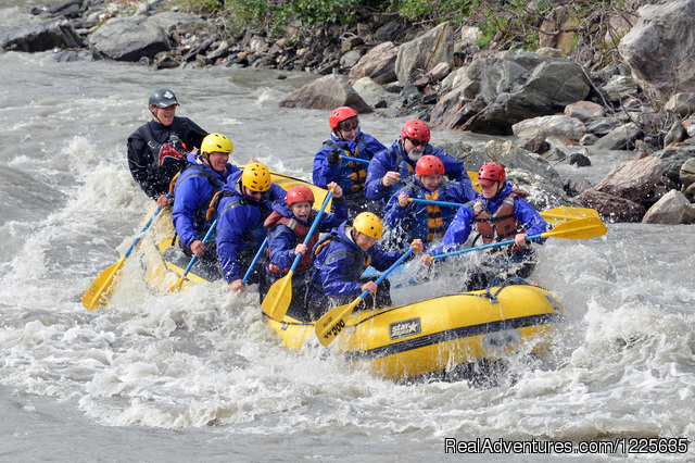 Canyon Run oar rafting (#2 of 8) - Alaska Adventure Tours at Denali Outdoor Center