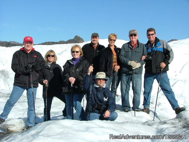 Glacer Trekking - One of many fun Alaska activites - Alaska Small Group Guided Wildlife & Glacier Tours