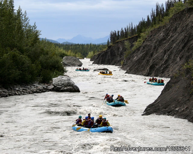Rafting - Scenic Floats or Whitewater Thrills - Alaska Small Group Guided Wildlife & Glacier Tours