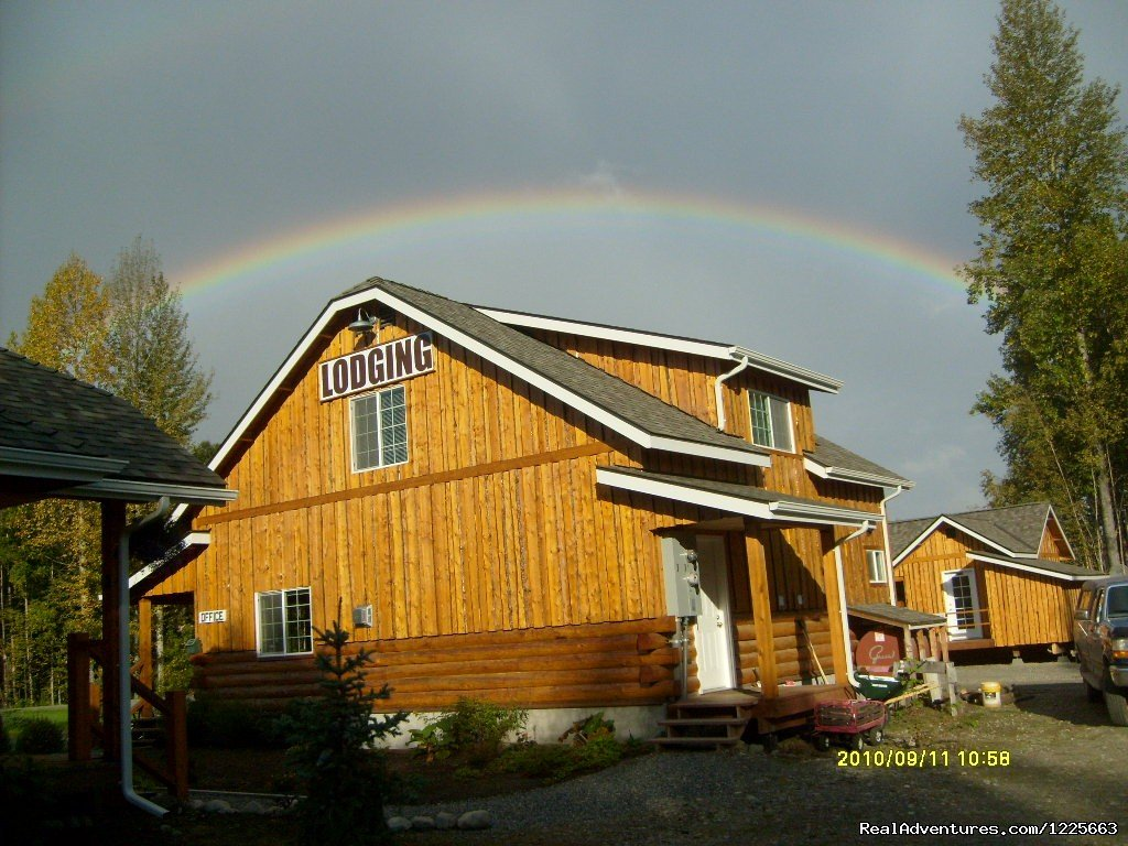 Office and Gods promise | Image #1/14 | Talkeetna, Alaska  | Hotels & Resorts | Denali Fireside Cabins & Suites