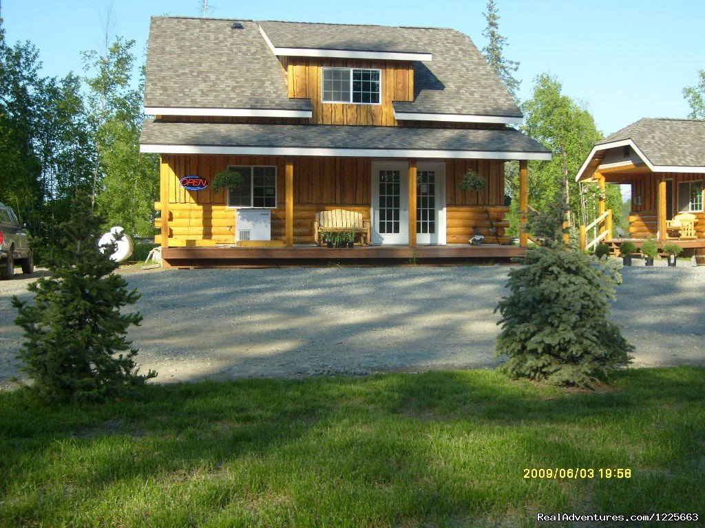 Front view of office | Image #3/14 | Denali Fireside Cabins & Suites