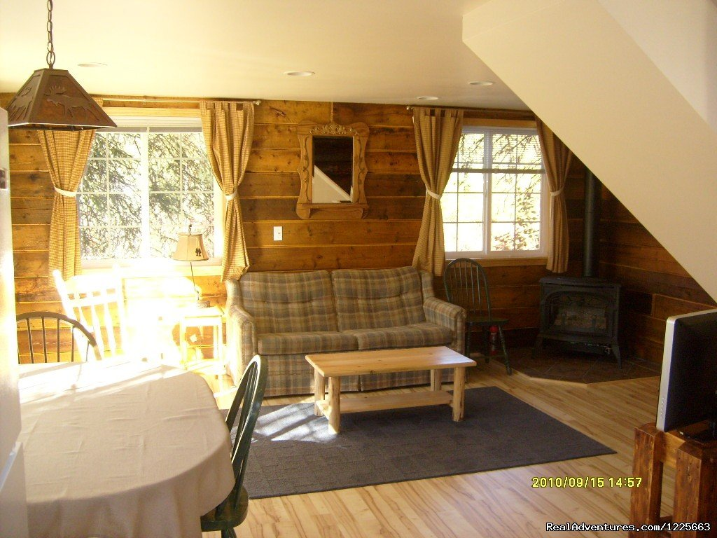 interior of 'Little Cabin' | Image #7/14 | Denali Fireside Cabins & Suites