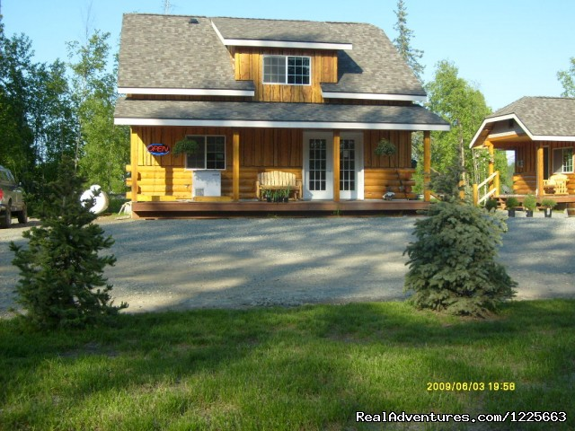 Front view of office - Denali Fireside Cabins & Suites