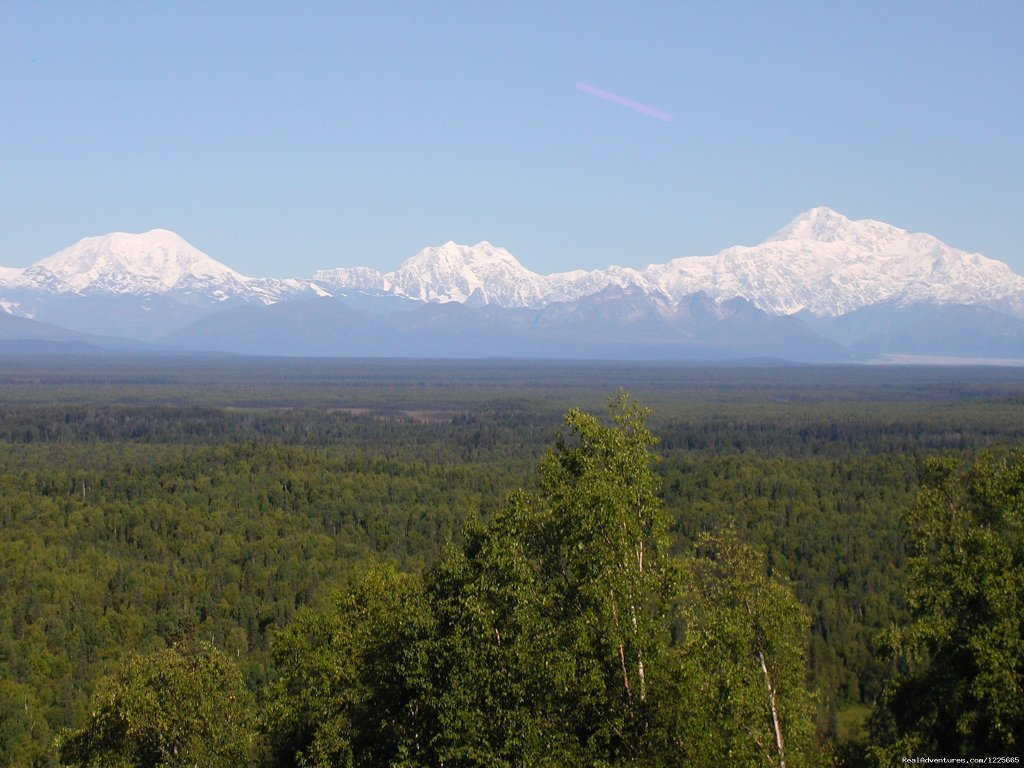Mt. McKinley and Alaska Range
