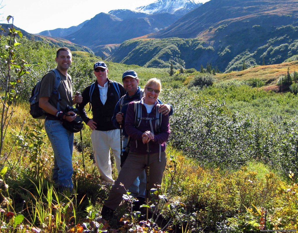 Denali Wilderness Hike | Image #2/3 | Alaska Nature Guides, hiking and custom trips