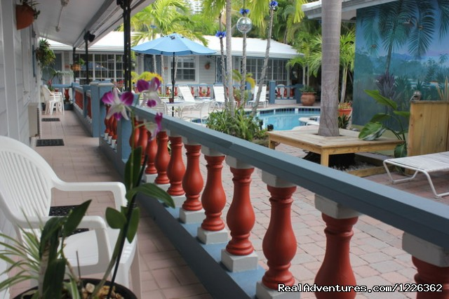 8 Well Appointed Room With Poolside Patios - Coral Reef Guesthouse ( Gay Friendly)