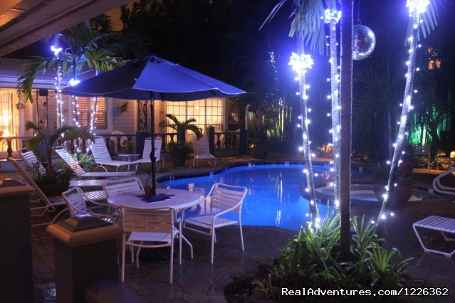 Night View of Property - Coral Reef Guesthouse ( Gay Friendly)