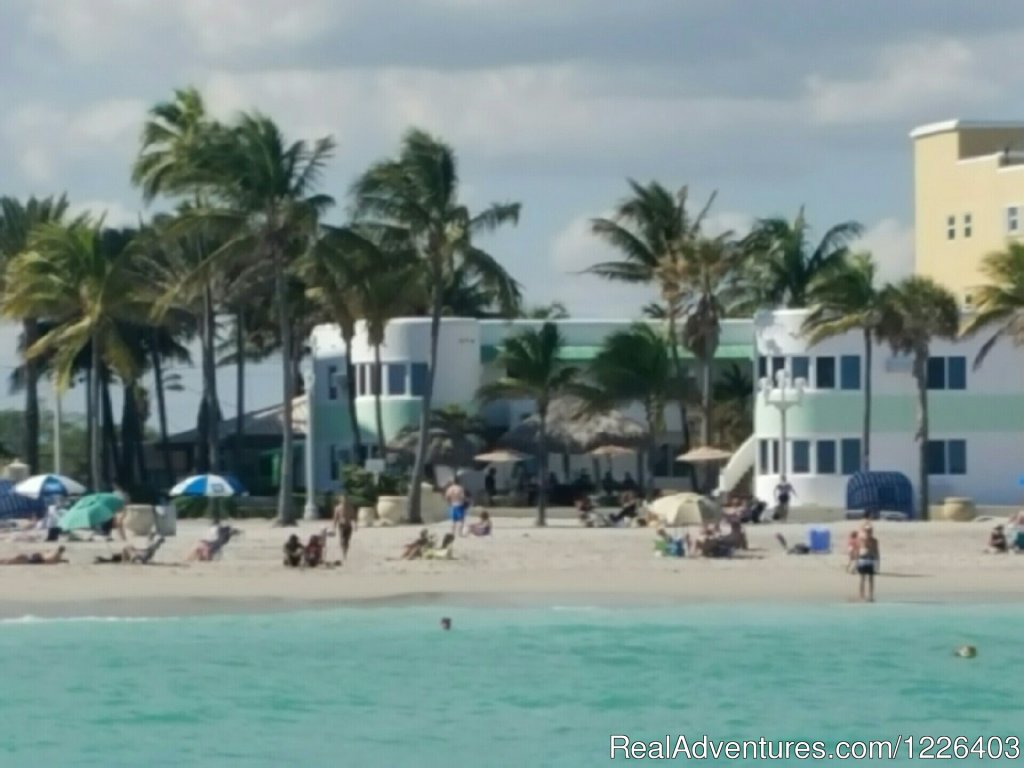 The Walkabout is known for its remarkable beachfront setting and legendary Hollywood Beach, Florida hotel location - on the Broadwalk. Named one of America's best beach Broadwalks by Travel + Leisure, the Hollywood Beach Broadwalk is more than 2 mile