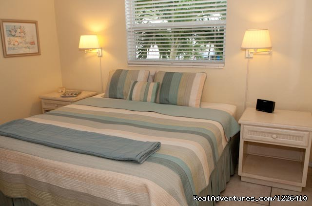 Comfortable Bedroom - Tropical Ocean View Suites at the Sea Spray Inn