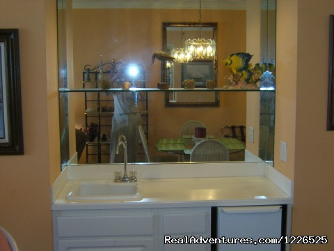 Wet Bar - 206 - 10% EB Disc, 3Br/3Ba Gulf Front Condo, Slp 8, WiFi
