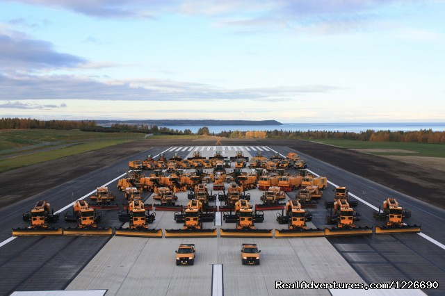 Ready for Winter - Ted Stevens Anchorage International Airport
