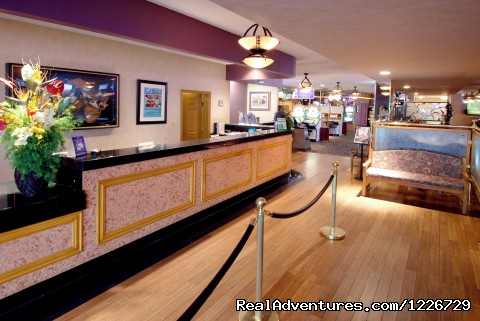 Front Desk - Best Western Mardi Gras Hotel and Casino