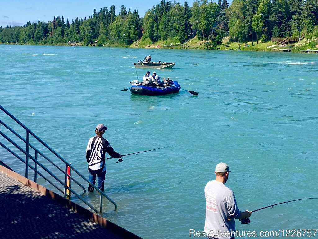 "We are your best resource about visiting Soldotna, Alaska. The Kenai Peninsula is nicknamed ""Alaska's Playground"" for a reason! The list of activities you can enjoy is endless. Wildlife viewing, fishing, bear viewing, & bird watching are just s"