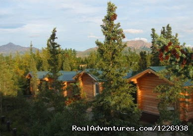 Park's Edge Cabins, Row of Cabins with View - Park's Edge