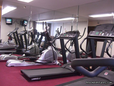 Fitness Center - BEST WESTERN SOUTH BAY HOTEL at LAX Area