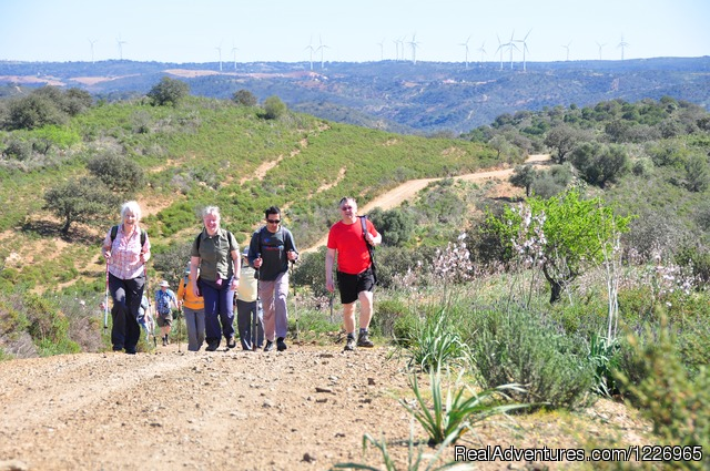Tasting green-red portuguese wine - A2Z Adventures Walking - Geres, The Shepherds Way